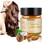 Máscara para pelo, Cabello Mascarillas, Magical Hair Mask, Reparación Profunda reconstructor instantáneo para cabello dañado, 5 Seconds to Restore Softer Hair for Damaged, Dry Hair 120 ml
